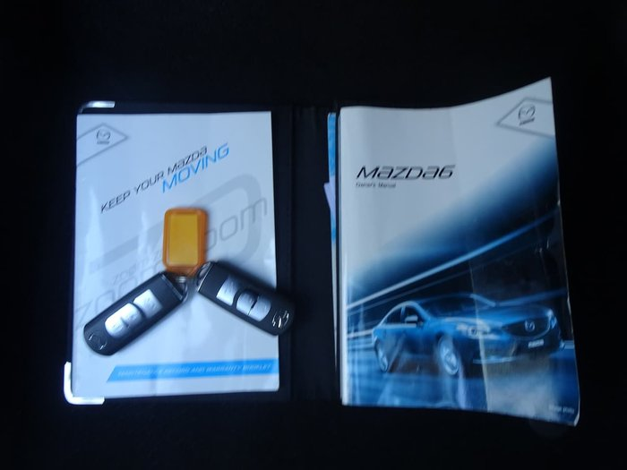 2012 Mazda 6 Sport GJ Grey