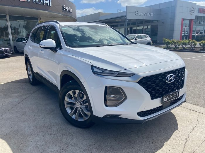 2019 Hyundai Santa Fe Active TM MY19 4X4 On Demand White