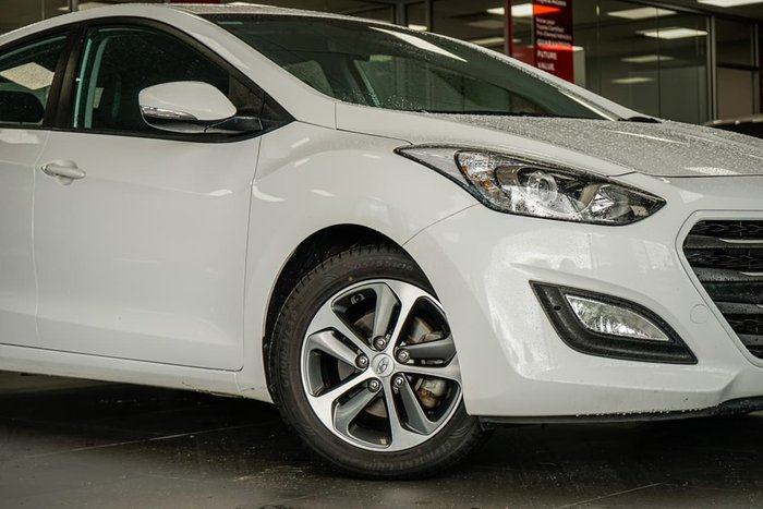 2016 Hyundai i30 Active X GD4 Series II MY17 White