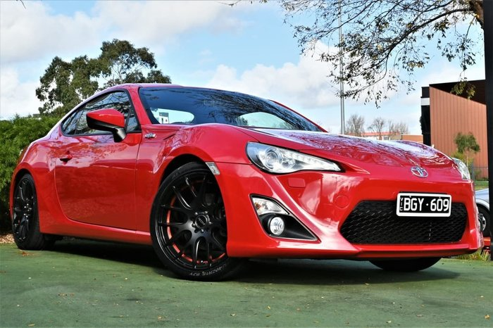 2013 Toyota 86 GTS ZN6 MY14 Red