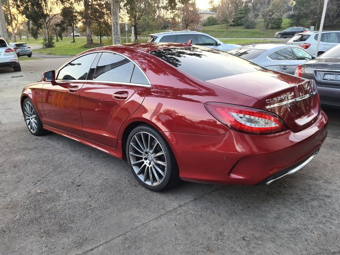 2015 Mercedes-Benz CLS-Class CLS250 d C218 Red
