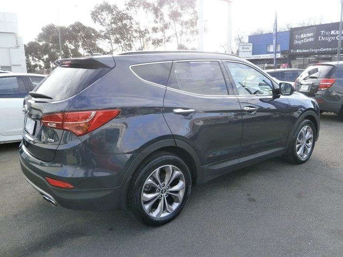 2013 Hyundai Santa Fe Highlander DM MY13 4X4 On Demand Grey