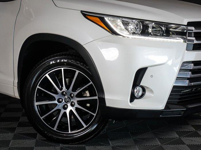 2018 Toyota Kluger Grande GSU50R White