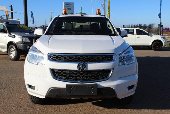 2015 Holden Colorado LS RG MY16 4X4 Dual Range White