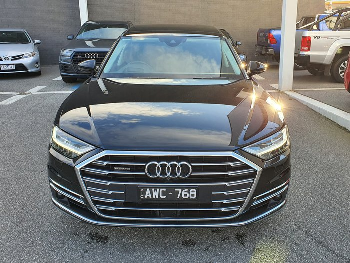 2018 Audi A8 50 TDI Plus D5 MY18 Four Wheel Drive Black