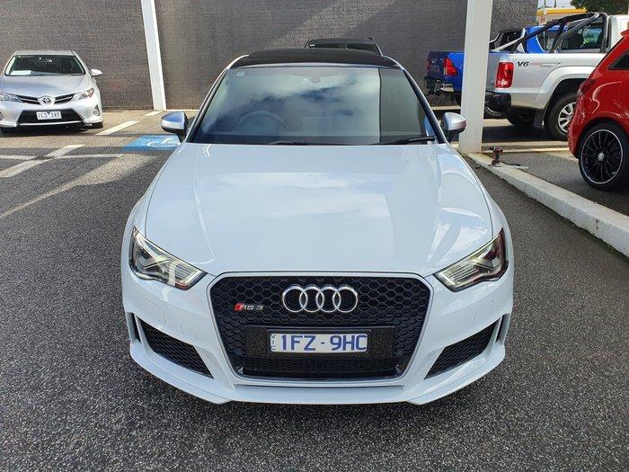 2016 Audi RS3 8V MY16 Four Wheel Drive White