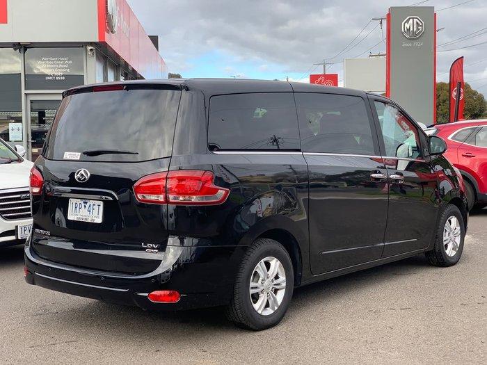2020 LDV G10 SV7A Black