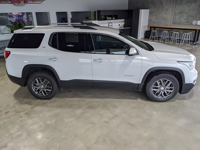 2018 Holden Acadia LTZ AC MY19 4X4 On Demand White