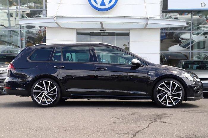 2020 Volkswagen Golf R 7.5 MY20 Four Wheel Drive Black