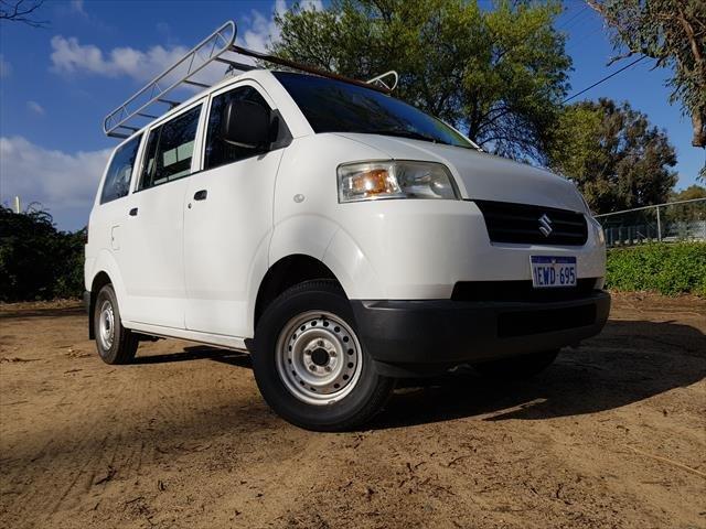 2015 Suzuki APV Van 5dr Man 5sp 810kg 1.6i White