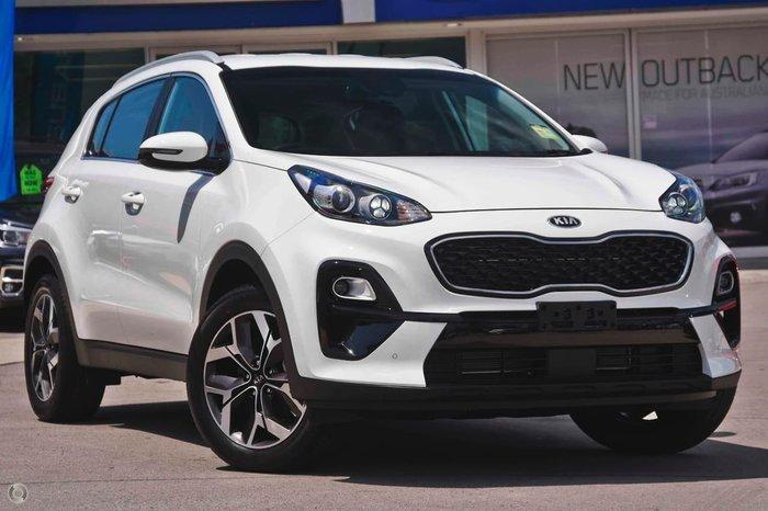 2020 Kia Sportage SX QL MY20 White