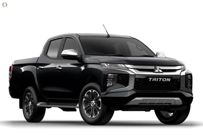 2020 Mitsubishi Triton GLS MR MY20 4X4 Dual Range Black