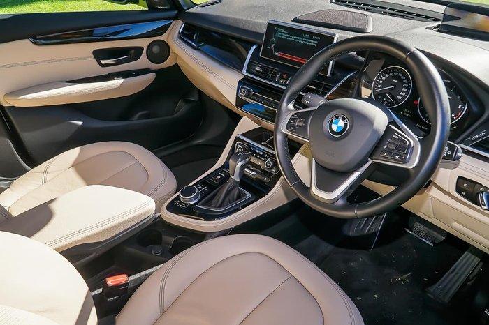 2018 BMW 2 Series 218d Luxury Line F45 Blue