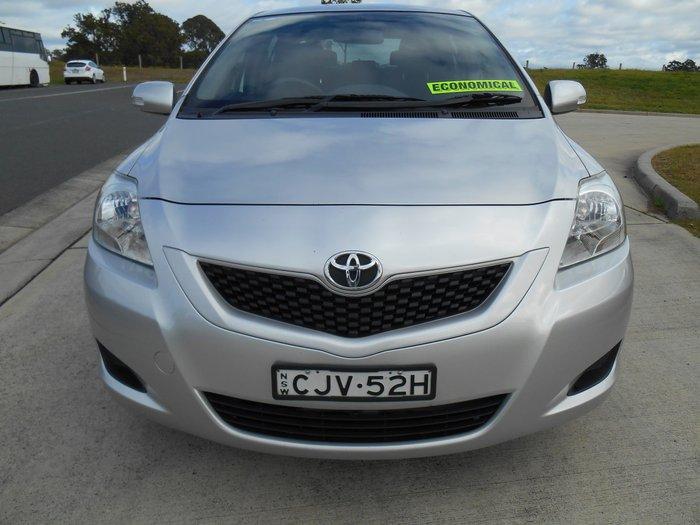 2012 Toyota Yaris YRS NCP93R MY11 Silver
