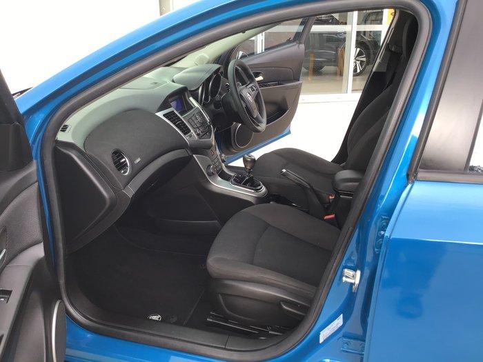 2012 Holden Cruze Equipe JH Series II MY12 Blue