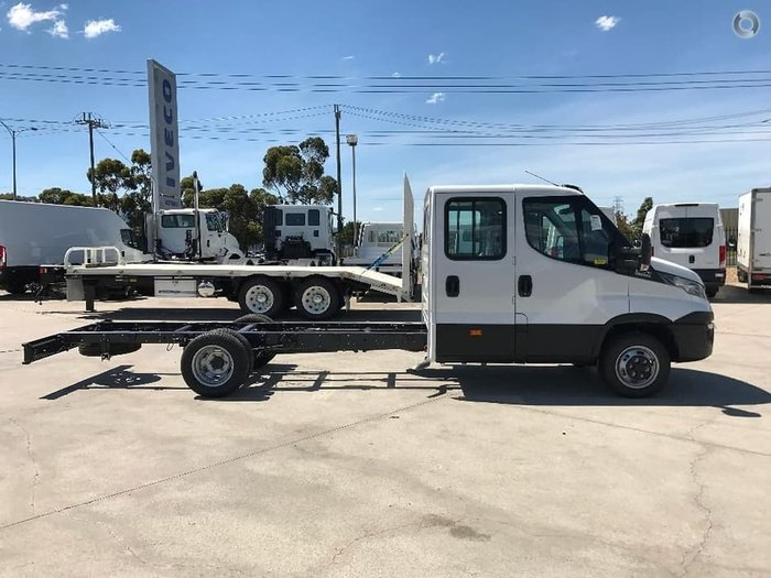 2020 IVECO 50C21 DUAL CAB 4350MM WHEELBASE null null white
