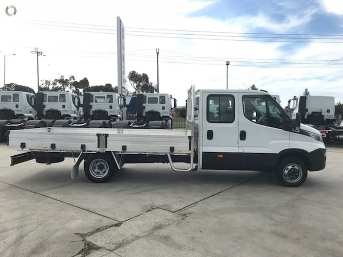 2020 IVECO 50C21 DUAL CAB 4350MM WHEELBASE WITH 4M ALLOY TRAY null null white