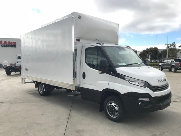 2020 IVECO IVECO 50C17 AUTO WITH 5.1M PANTECH BODY null null white