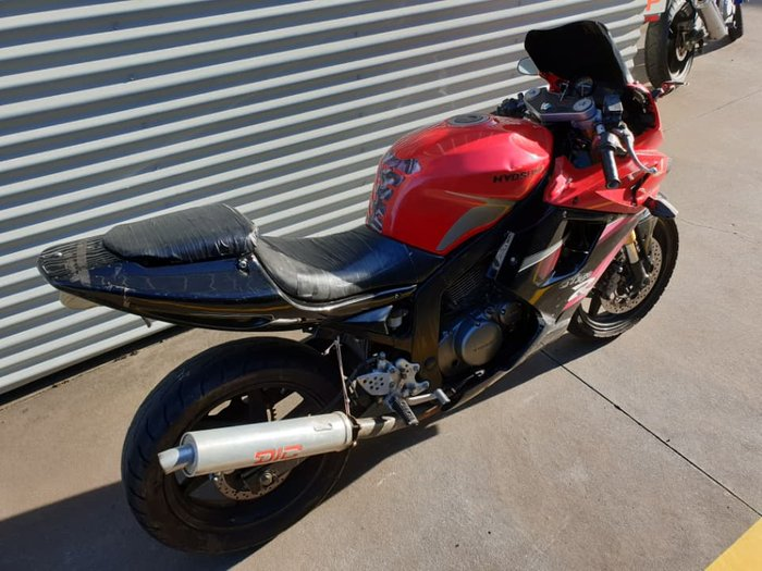 2008 Hyosung GT250R null GTR yellow red blue black
