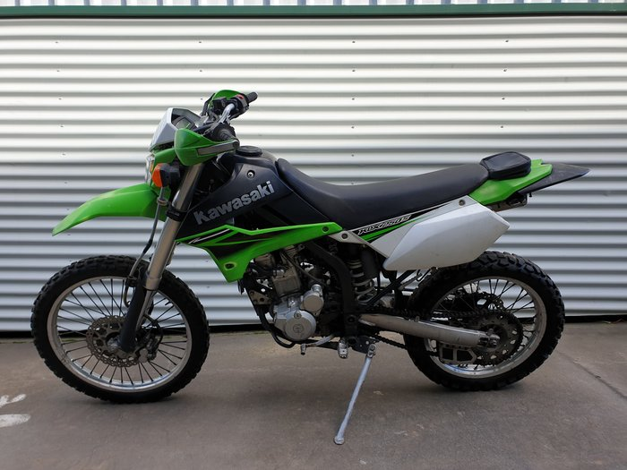 2010 Kawasaki KLX250S KLX Lime Green/Black