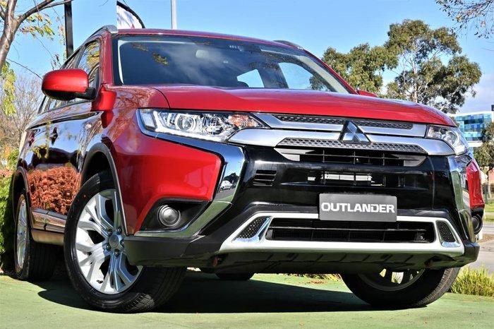 2019 Mitsubishi Outlander ES ADAS ZL MY20 4X4 On Demand Red