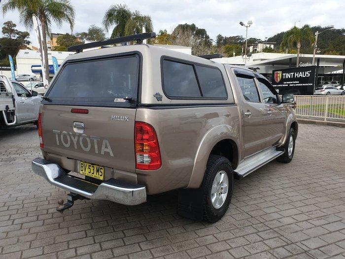 2009 Toyota Hilux SR5 KUN26R MY09 4X4 Beige