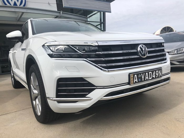 2020 Volkswagen Touareg 190TDI Premium CR MY20 Four Wheel Drive White
