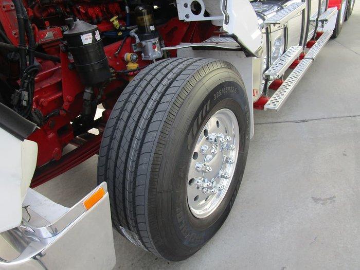2007 KENWORTH T404SAR WHITE