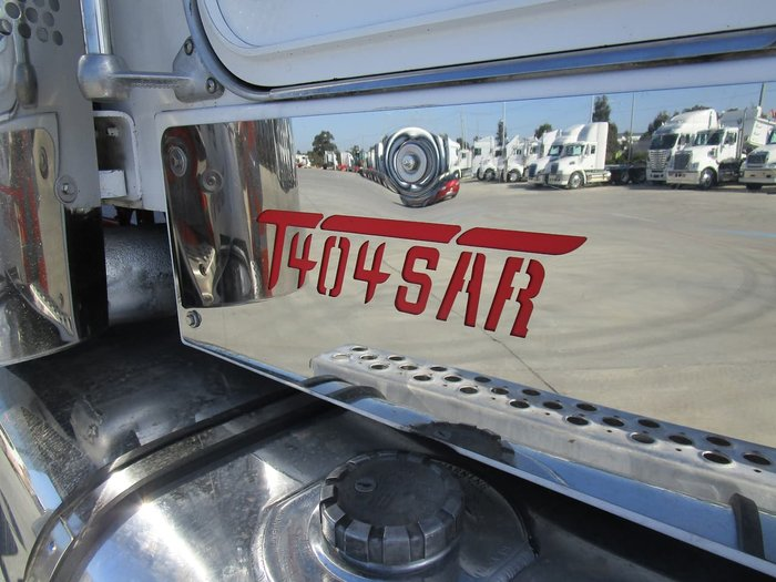 2007 KENWORTH T404SAR WHITE