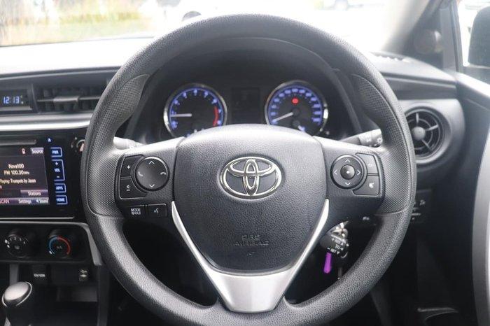 2019 Toyota Corolla Ascent ZRE172R Grey