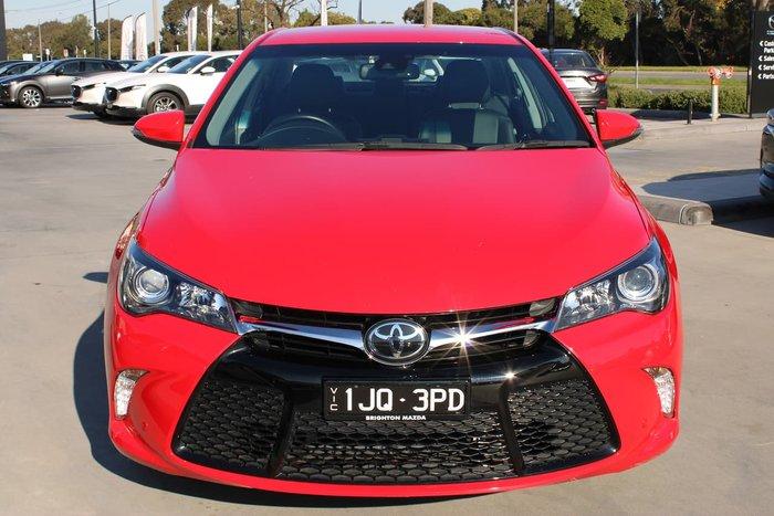 2017 Toyota Camry Atara SL ASV50R Red