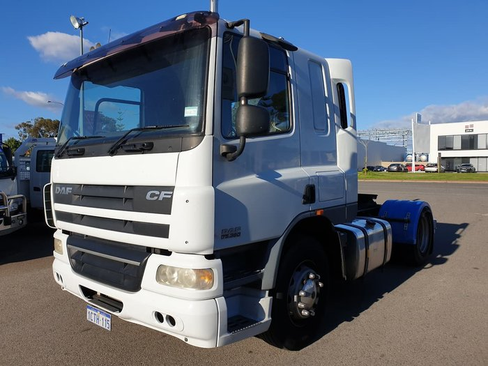 2008 DAF CF 75.360 PRIME MOVER null null null