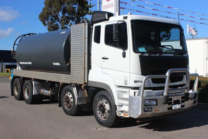 2013 FUSO FS52SS 8X4 AUTO WHITE