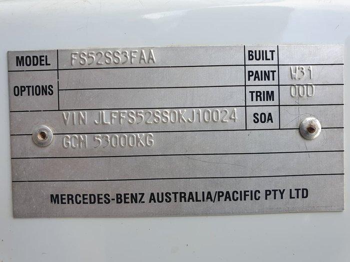 2013 FUSO FS52SS 8X4 AUTO null null WHITE