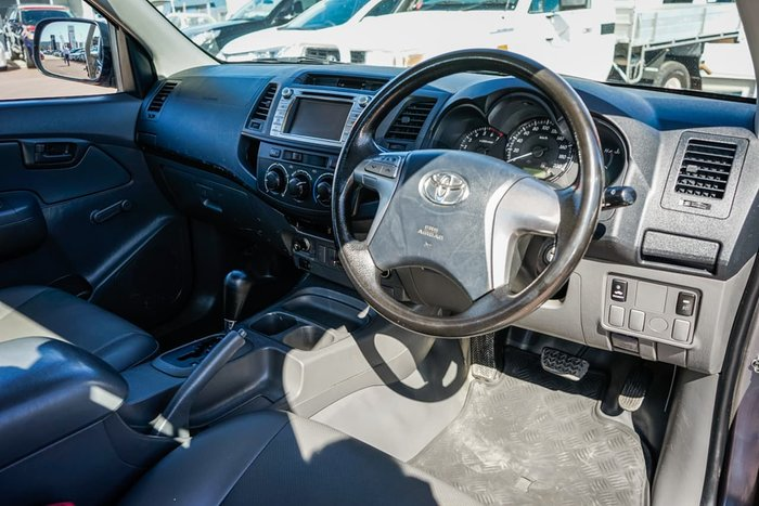 2013 Toyota Hilux Workmate TGN16R MY14 Grey