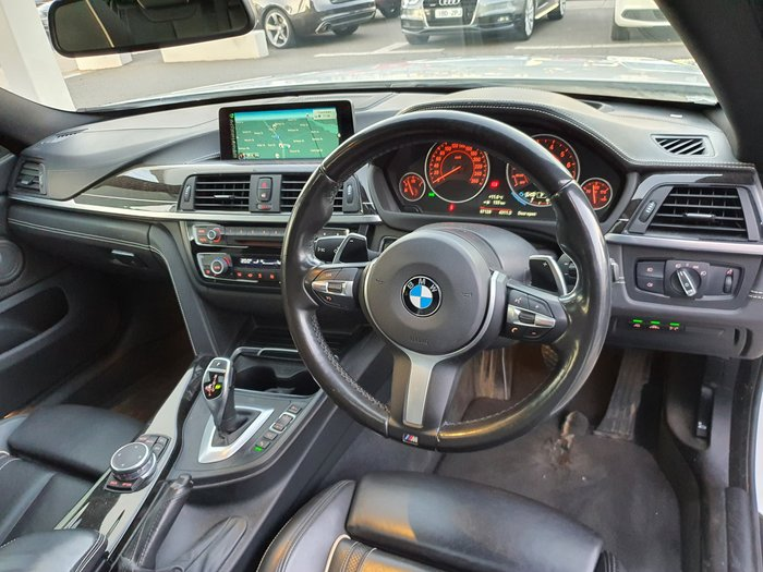 2017 BMW 4 Series 430i M Sport F36 White