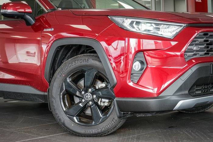 2019 Toyota RAV4 Cruiser AXAH54R 4X4 On Demand Red
