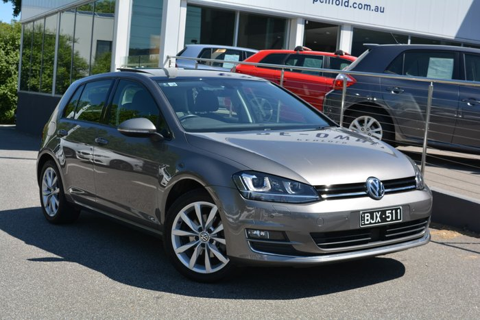2017 Volkswagen Golf 110TSI Highline 7 MY17 Grey