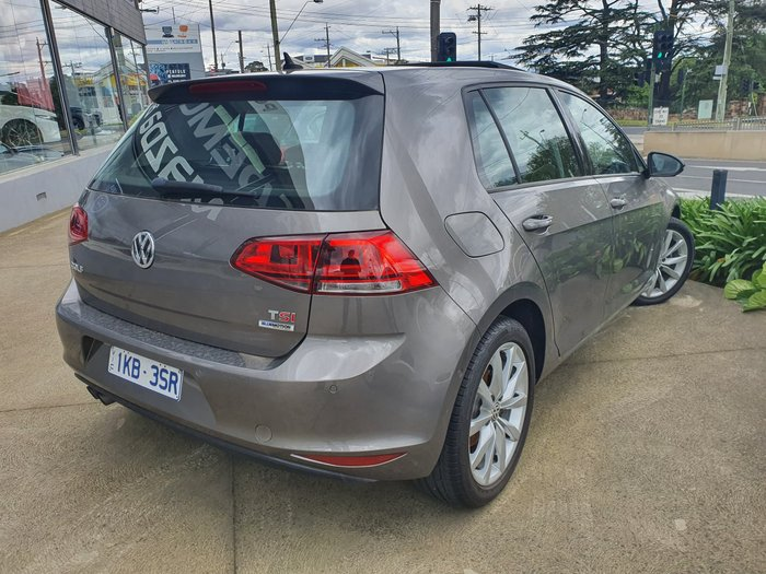 2017 Volkswagen Golf 110TSI Highline 7 MY17 Silver