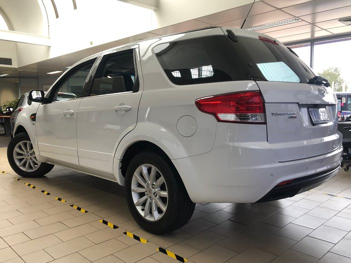 2014 Ford Territory TX SZ MkII Four Wheel Drive White