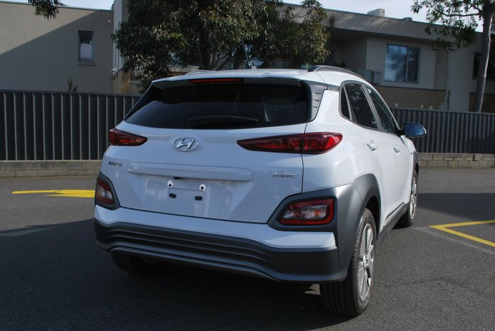 2018 Hyundai Kona electric Launch Edition OS.3 MY19 White