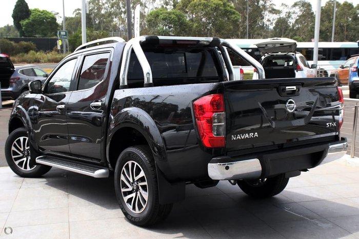 2020 Nissan Navara ST-X D23 Series 4 4X4 Dual Range Black