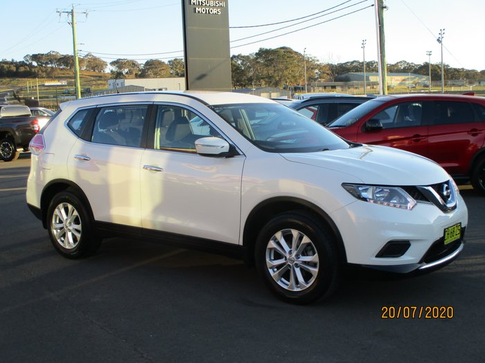 2016 Nissan X-TRAIL ST T32 4X4 On Demand White