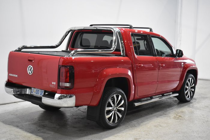 2019 Volkswagen Amarok TDI580 Ultimate 2H MY19 4X4 Constant Red