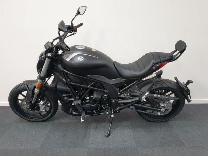 2020 Benelli TRK 502 (ABS) Black