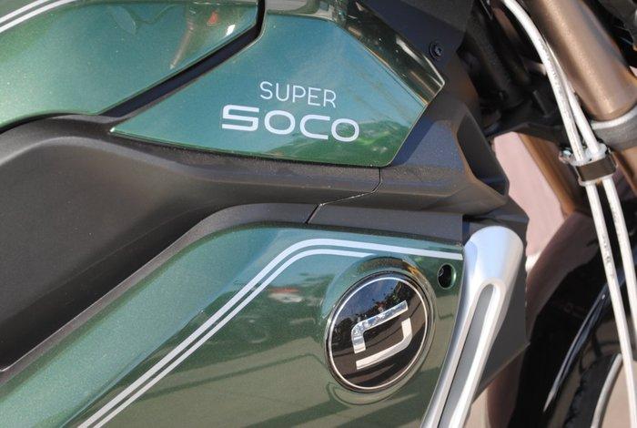 2020 SUPER SOCO TC MAX ALLOY WHEEL Black