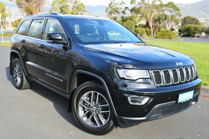 2018 Jeep Grand Cherokee Laredo WK MY18 4X4 Dual Range BLACK