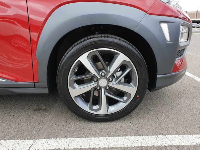2019 Hyundai Kona Highlander OS.2 MY19 4X4 On Demand Red