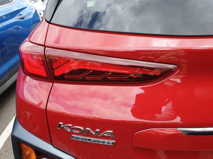 2019 Hyundai Kona Highlander OS.2 MY19 4X4 On Demand Red