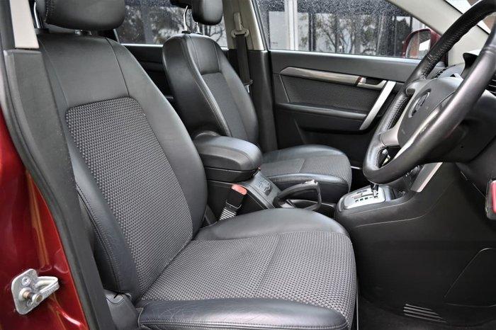 2010 Holden Captiva CX CG MY10 4X4 On Demand Red